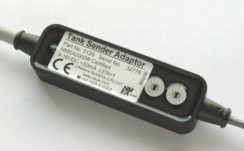 level indicator / for boats / analog / fuel tank