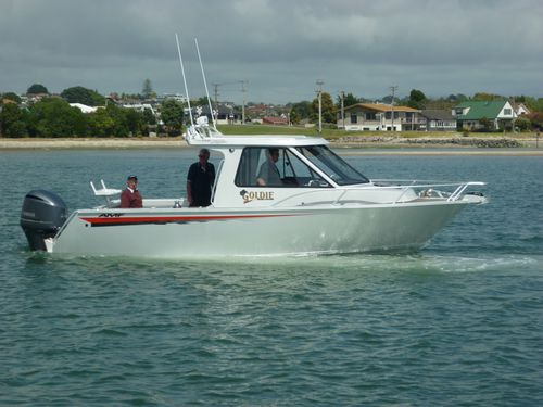 outboard cabin cruiser / hard-top / sport / sport-fishing