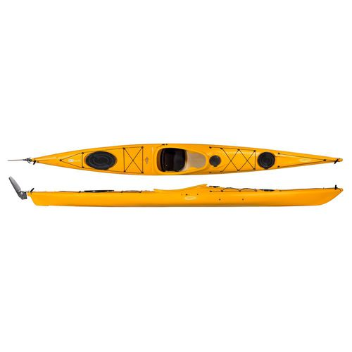 Rigid kayak / sea / touring / 1-person WIND SOLO PE Tahe Kayaks