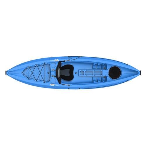 sit-on-top kayak / rigid / recreational / entry-level