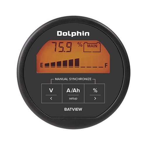 Boat monitoring panel / battery Battery Monitor Batview DOLPHIN CHARGER