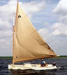 Classic sailboat / cat boat THOM CAT 15 Thompson Boatworks