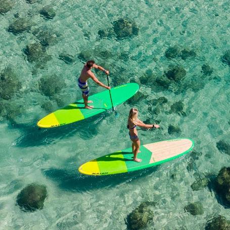 all-around SUP / touring / surf / bamboo
