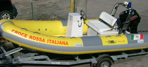 passenger boat / patrol boat / work boat / aquatic center boat