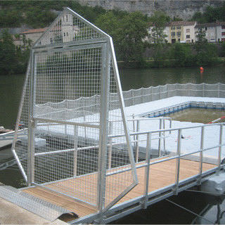 dock gangway / with handrails