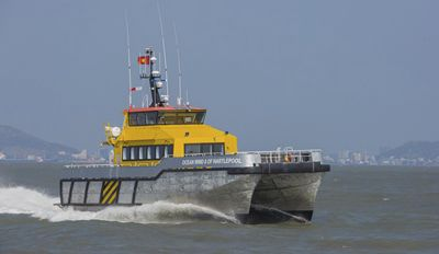 Wind farm offshore support vessel WFSV 26 P/W Piriou