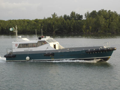 offshore service boat