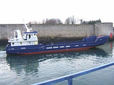 motor-barge special vessel