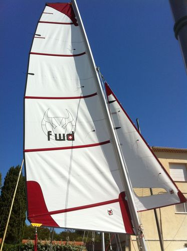 Mainsail / for sport multihulls GVDA15S101 Forward Sailing