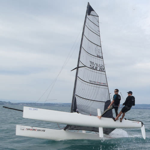 Mainsail / for sport multihulls / VENTILO F20 GVV2010000 Forward Sailing