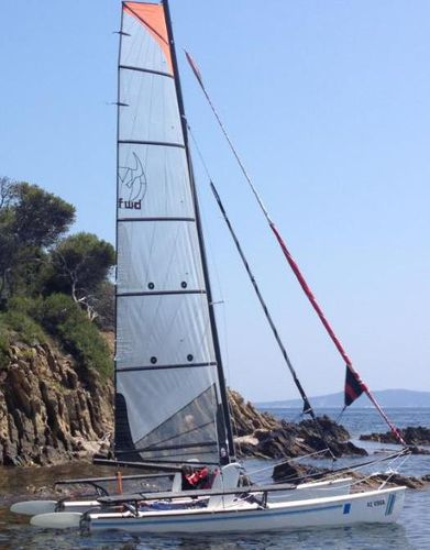 Mainsail / for sport multihulls / Formula 18 GVRAID1000 Forward Sailing