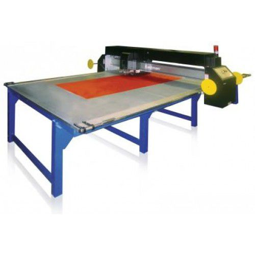 CNC cutting table / laser / for composite fiber fabric / shipyard