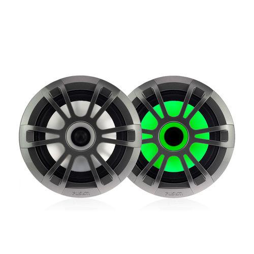 boat speaker / built-in / water-resistant / LED