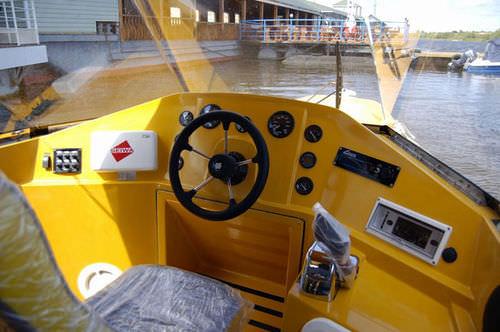 Inboard sightseeing boat / rigid hull inflatable boat HITEK 85C TAXI II EK Marine