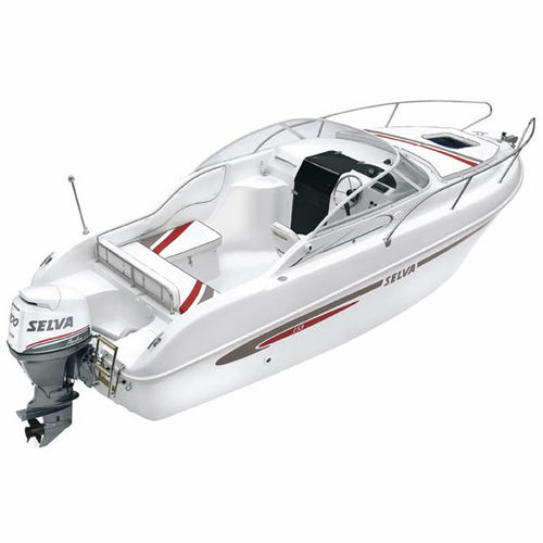outboard day cruiser / open / 6-person max. / with cabin