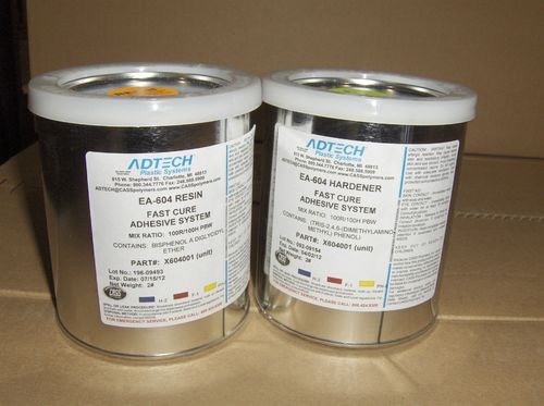 two-component adhesive / multi-use / quick-drying