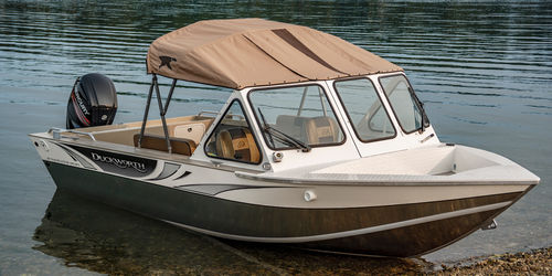 outboard center console boat / dual-console / 6-person max.