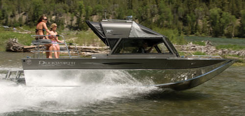 Inboard day fishing boat / hydro-jet / 8-person max. 22 ULTRA MAGNUM Duckworth