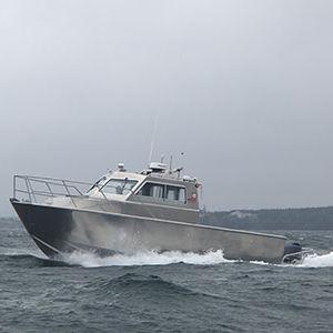 service boat / outboard / aluminum