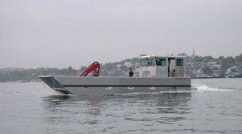 Inboard work barge / inboard waterjet / aluminum 36' WORK BARGE ABCO Industries Limited