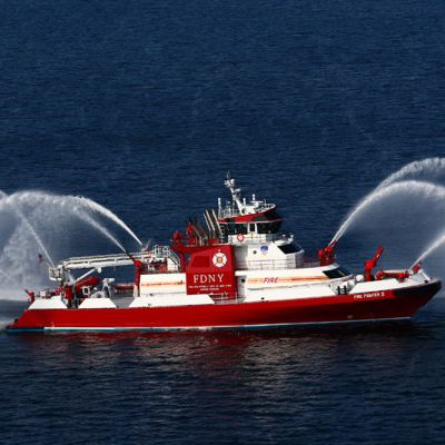 fire fighting ship