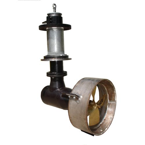 azimuth thruster / for ships / hydraulic / L-drive