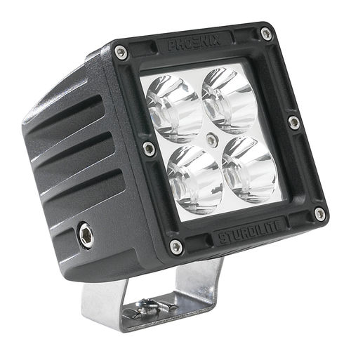 Deck floodlight / for ships / LED Sturdilite® E-DC Series Phoenix Products Company Inc