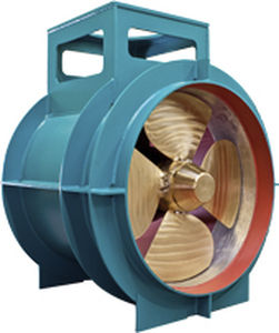 Bow thruster / for ships / hydraulic / variable-pitch propeller OCP series Verhaar Omega BV
