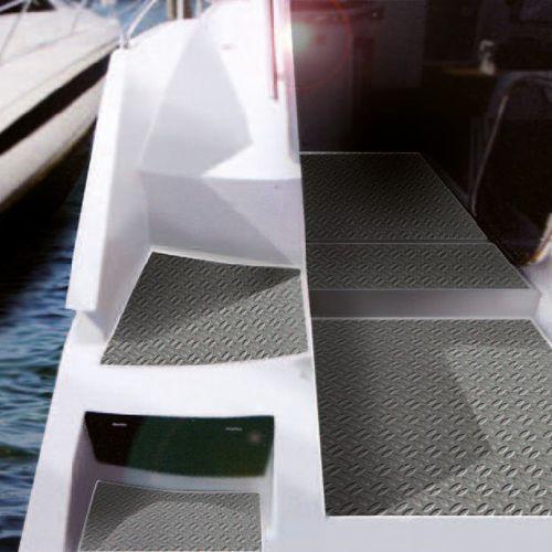 boat floor covering / PVC / non-slip