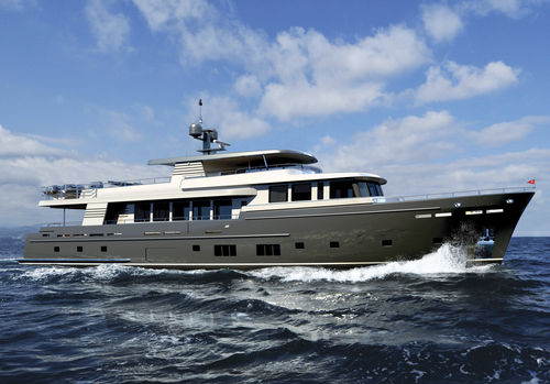 cruising motor yacht / trawler / flybridge / wheelhouse