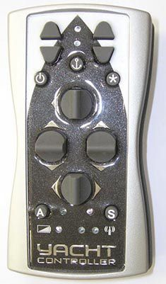 motor remote control / for boats / for yachts / wireless