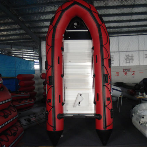 outboard inflatable boat / foldable