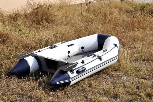outboard inflatable boat / foldable / aluminum deck / inflatable keel