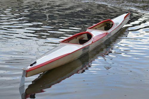 rigid kayak / sprint / marathon / 2-person