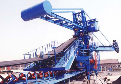 Belt conveyor ship loader-unloader STACKER Nanjing Port Machinery