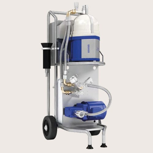 oil treatment system / fuel / for ships / with filter