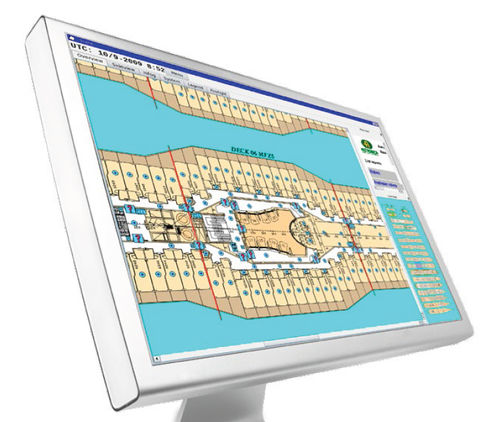 fire safety management software / for ships