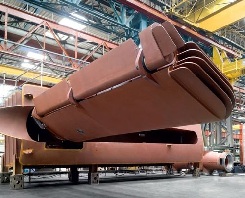 Ship stabilizer / retractable Type S Blohm + Voss Industries