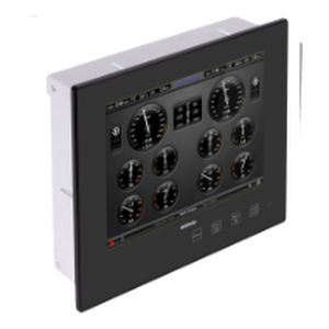 ship panel PC / for yachts / built-in