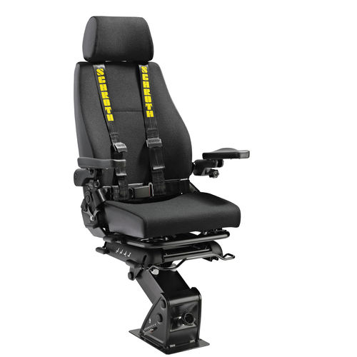operator seat / for professional boats / for ships / with armrests