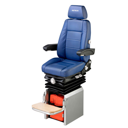 operator seat / for ships / with armrests / high-back