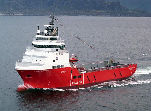 platform supply vessel (PSV) offshore support vessel