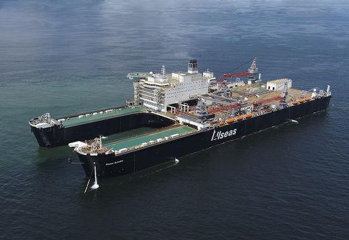 construction vessel offshore support vessel / heavy lift / catamaran