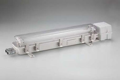 indoor ceiling light / for ships / for hazardous areas / fluorescent