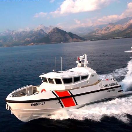patrol boat / inboard / aluminum