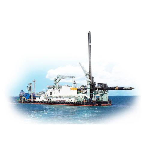 Drillship special vessel HANJIN YOUNG JONG / MAERSK PIONEER HANJIN HEAVY INDUSTRIES AND CONSTRUCTION