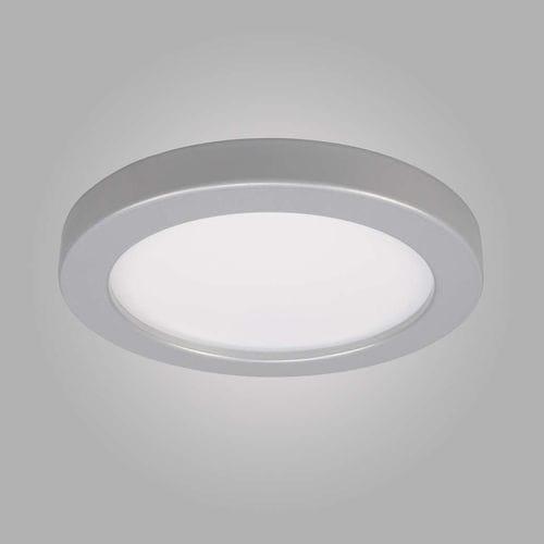 indoor spotlight / LED / ceiling / chrome finish