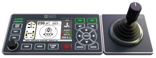 Dynamic positioning system / for ships NavDP 4000 Series Navis Engineering Oy
