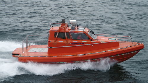 Ship MOB boat / inboard / hydro-jet / with enclosed cockpit Maya 850 Norsafe