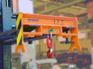 Forklift truck spreader / beam type PFEIFER Seil- und Hebetechnik Service Center Hambu